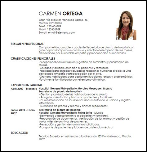 Curriculum Administrativa Con Experiencia Refersfranchises Tk